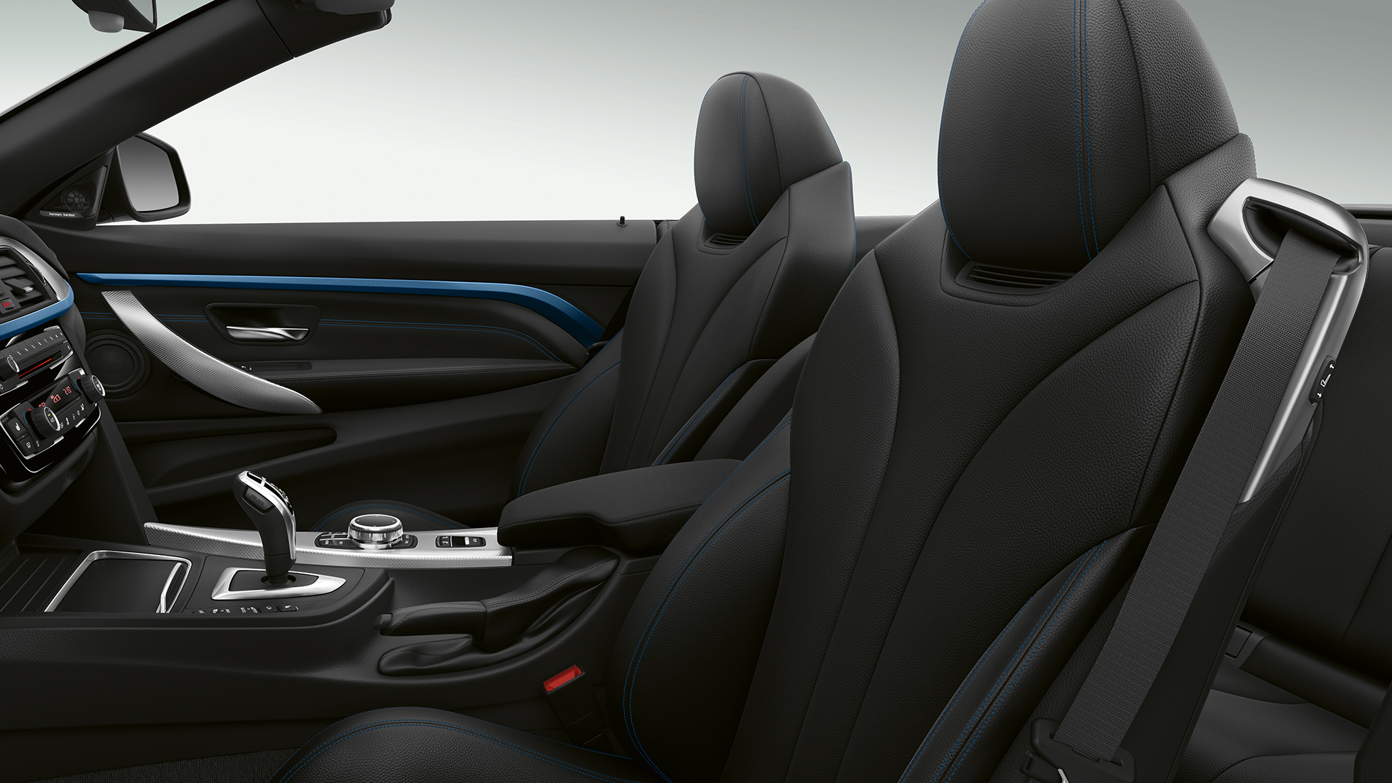 BMW 4 Series Convertible, Model M Sport interior